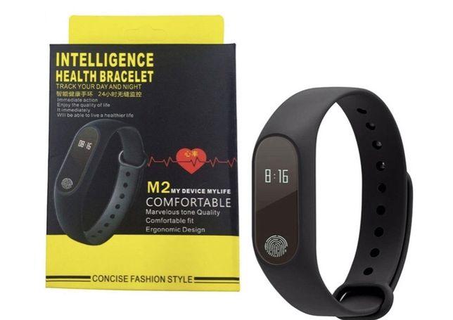 Фитнес браслет Smart Band M2 Черный