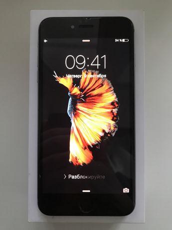 iPhone 6s Plus 16 GB, Space Gray. (iOS 9.3.1)