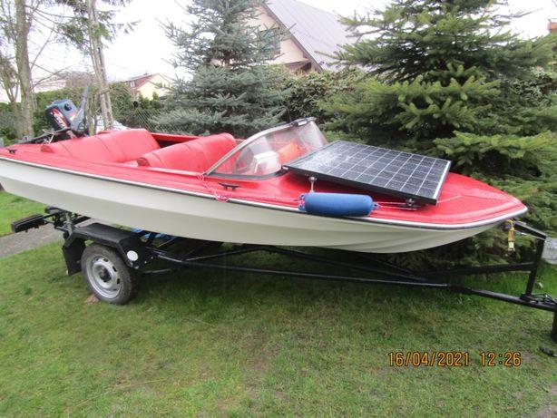 motorówka łódka Cameo super stan 2 silniki  mini cotta i evinrude