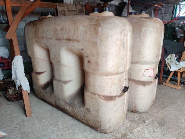 Zbiornik na paliwo/wodę 2000l