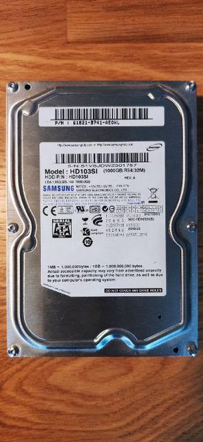 Dysk twardy SATA HDD 1TB Samsung HD103SI EcoGreen F2 100% sprawny