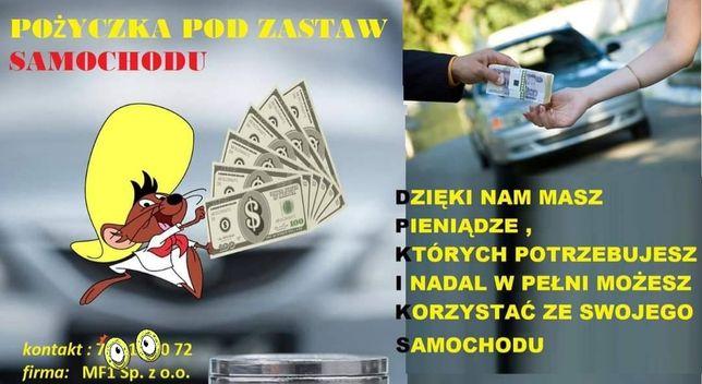 POŻYCZKA, pożyczki , KREDYT pod zastaw auta  bez BIK i KRD