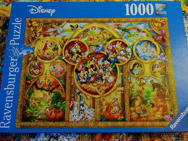 Puzzle 1000 Disney ravensburger
