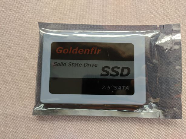 SSD 256 gb Новый sata Goldenfir
