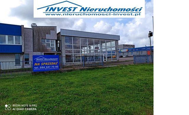Obiekt w strefie usługowo-komercyjnej 1273 m2