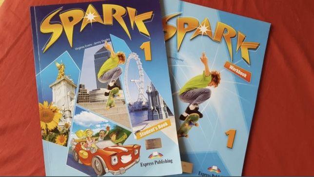 SPARK 1 Students book & workbook книга: ТЕТРАДЬ И УЧЕБНИК английского