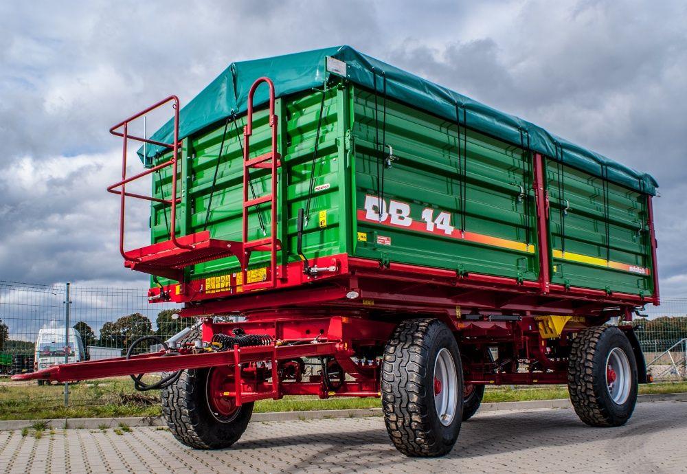 Przyczepa rolnicza wywrotka METAL-TECH DB 14 Ton | Wielton Pronar Mirosławiec - image 1