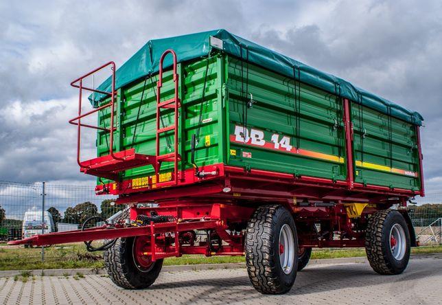Przyczepa rolnicza wywrotka METAL-TECH DB 14 Ton | Wielton Pronar