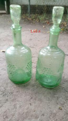 Продам стеклянные бутли для вина/других жидкостей