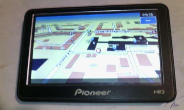 """Автомобильный GPS-навигатор Pioneer 5066 BT - 5"""" - 2 Ядра - в Идеале !"""