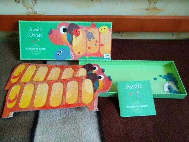 НАСТОЛЬНАЯ ИГРА DJECO Игра «Авали», Awale Oware развивающая