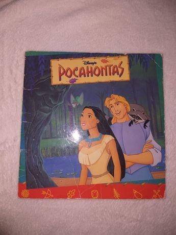 Pocahontas książeczka