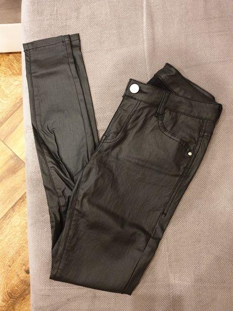 Spodnie skórkowe/lateks roz 36