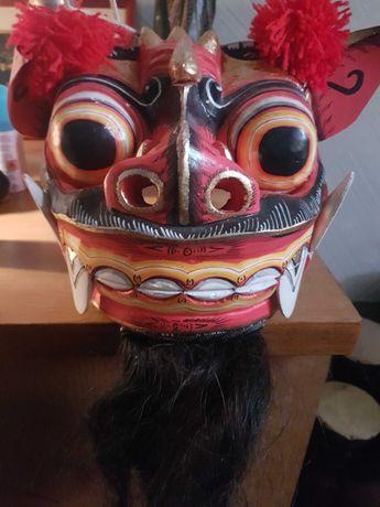 Китайская сувинирная  маска Дракона