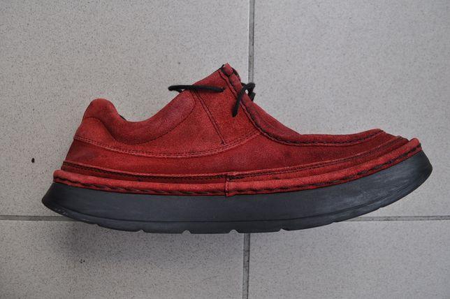 Wygodne buty casual skóra zamsz rozm. 45 sneakers