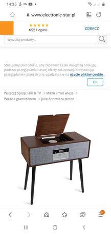Auna Julie Ann wieża  stereo+gramofon