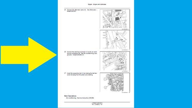Instrukcja napraw New Holland CR 7.90,8.80,8.90,9.80,9.90,10.90