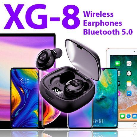 XG-8 słuchawki bezprzewodowe bluetooth 5.0 nowe TWS