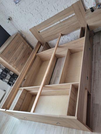 Łóżko sypialniane z szufladami 140x200 stan idealny