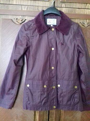 куртка на дівчинку, курточка на девочку 9-10 років, вітрівка, ветровка