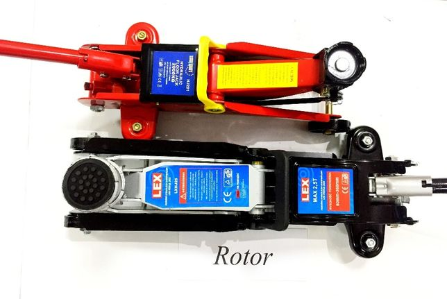 Домкрат Гидравлический подкатной с низкой платформ Euro-Craft 2,5 тонн