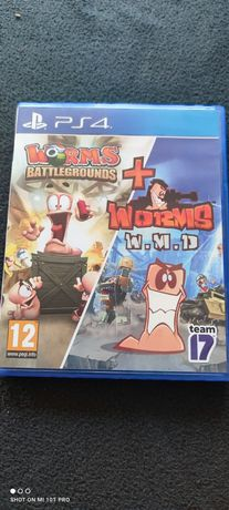 Worms Battlegrounds Worms W.M.D Wmd PS4 PlayStation 4