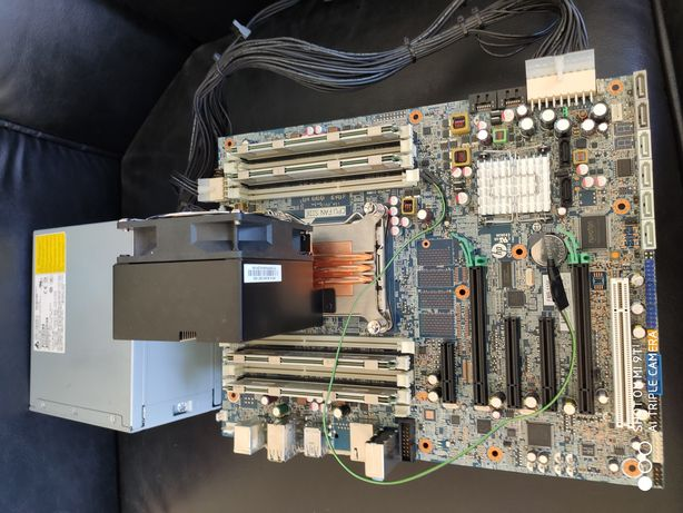 HP Z420 рабочая станция , 2640 V2, 32 Gb DDR3 1600 Mgz,