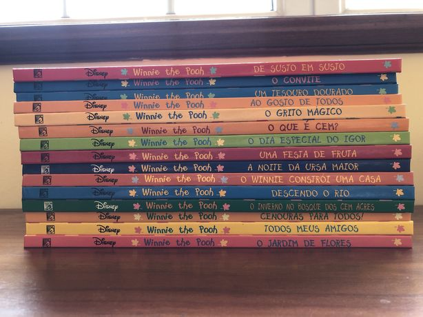 Coleção winnie the pooh completa