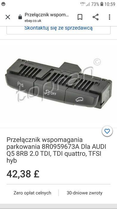 Włącznik parktronic Audi Q5 Kalisz - image 1