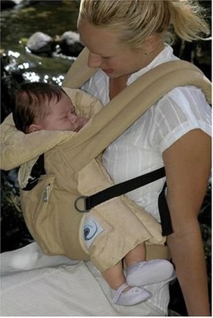 ERGOBABY ORGANIC wkładka dla niemowląt do nosidełka ERGOBABY