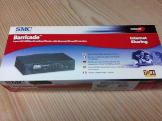 Router banda larga com firewall SMC 7004VBR-EU 4 portas
