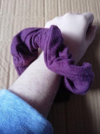 Xuxu de cabelo roxo de pelinho