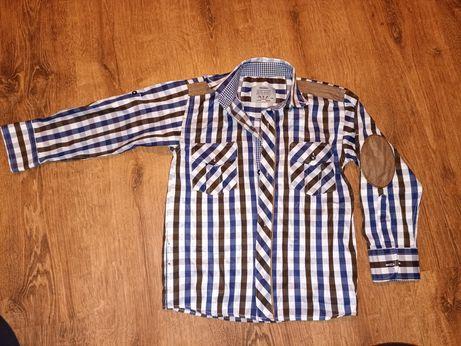 Koszula w kratkę r 116