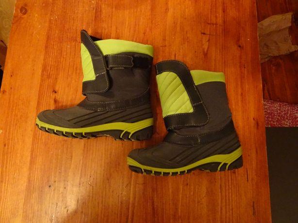 Kalosze freewalk. Gumowce. Buty zimowe zielone. Śniegowce.