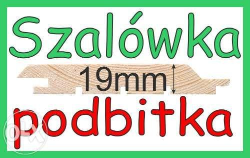 Deska elewacyjna Podbitka Boazeria Szalówka - 20mm sosna/modrzew