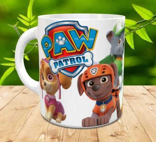 Psi Patrol kubek prezent dla dziecka paw bohater z bajki