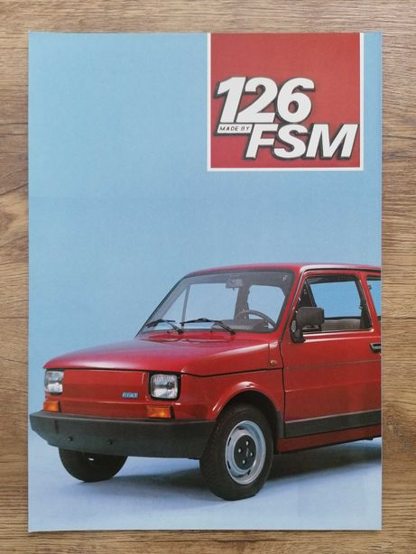 Prospekt Fiat 126 FSM