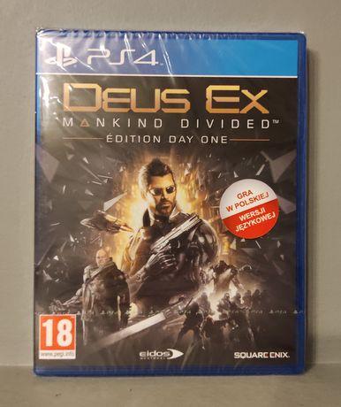 PlayStation 4! Deus Ex - PL! PS3 - Polecam