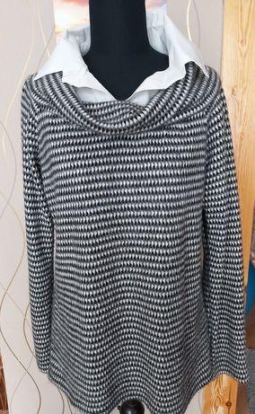 Sweter z kołnierzykiem