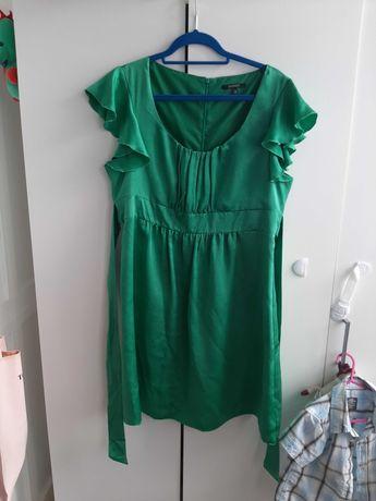Sukienka DUNNES rozm.46 zielona
