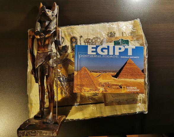 Anubis, Egipt, album, papirus.