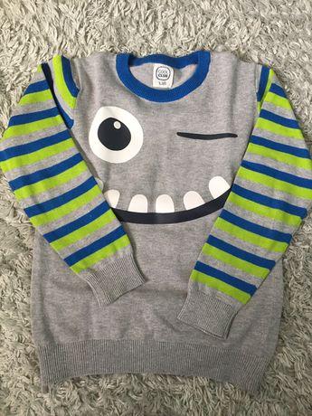 Sweterek smyk r.128