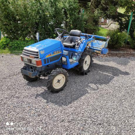 Mini traktor traktorek glebogryzarka 4x4 Iseki TU 147