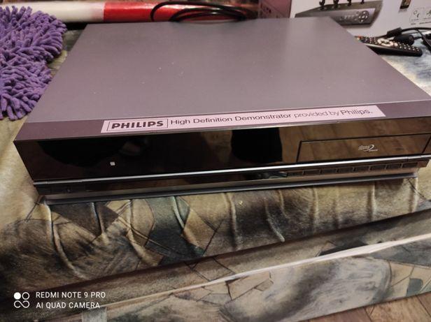 odtwarzacz dvd philips HVP-3060 z dyskiem 80GB