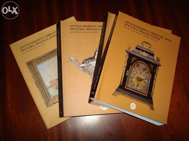 Catalogo - Antiguidades e obras de arte pintura, pratas e joias