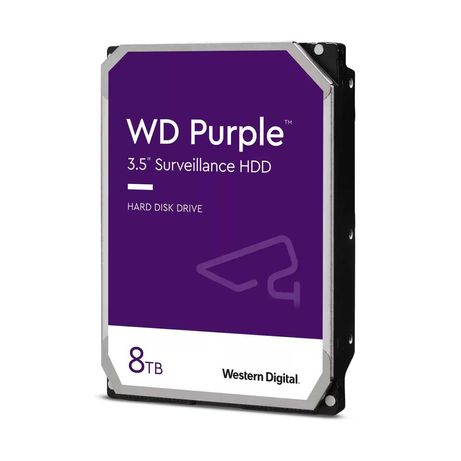 """Жосткий диск WD HD3.5"""" SATA3 8TB WD82PURZ 2021 Року"""