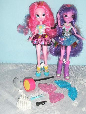 Equestria girls Pinkie Pie i Twilight Sparkle, kucyk Celestia GRATIS