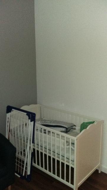 Łóżeczko IKEA Hensvik + Materac