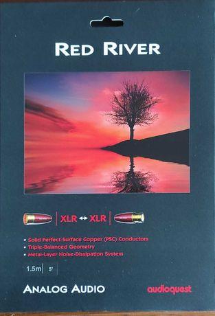 Audioquest Red River XLR | kabel 2x XLR | 1,5m