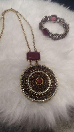 Conjunto colar e pulseira Morgan